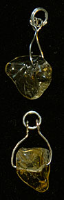 Citrine Dangle